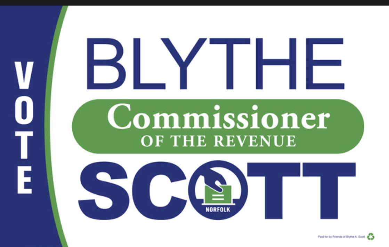 Blythe Scott for Commissioner